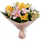 Букет из 11 орхидей